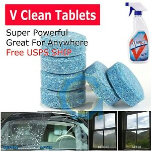 V CLEAN SPOT Multifunctional Effervescent Spray Cleaner Tablets lot Wholesale