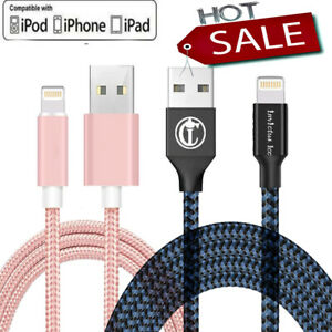 For iPhone Lightning Charger Cable For iPhone 5 6 7 8 Plus X XR Data Sync Cord $6.38