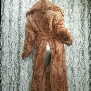 NWT~$3600~DROME~SZ ML~ITALIAN GENUINE SHEEPSKIN LAMBSKIN FUR FULL LENGTH COAT