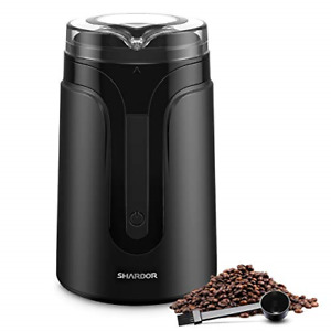 Electric Coffee Grinder Mill 1 2 Person Grinder For Spices Herbs Grain Nut Black