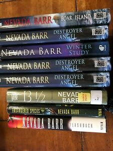 YOUR CHOICE BUILD YOUR LIBRARY HARDCOVER BOOKS BY NEVADA BARR