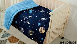 Kids Baby Toddler Super Soft and Cozy Blanket Navy Toddler Kids Baby Boys.