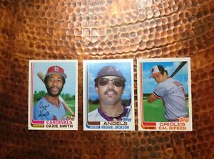 1982 Topps Traded Baseball Complete Set 132 Cal Ripken Rookie Excellent Cond.