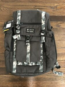 NWT UA Under Armour Project Rock USDNA Regiment Backpack Camo 1315435 001 $122.99