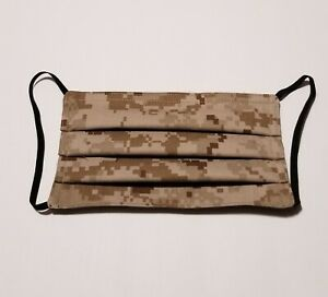 Military Camouflage face mask Desert Digital USMC nose wire