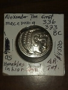 Coin Ancient Greek Alexander The Great 336 323 BC $804.00