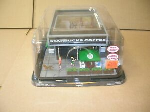 MENARDS O SCALE BUILDINGS STARBUCKS W POWER ADAPTER MAKE OFFERS