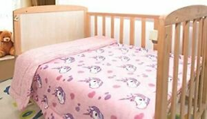 Kids Baby Girl Super Soft and Cozy Blanket 40quot; x 50quot;Kids Toddler Unicorn Pink $19.49