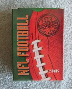 1997 TOPPS MEMBERS ONLY FOOTBALL 55 CARD BOXED SET $6.99