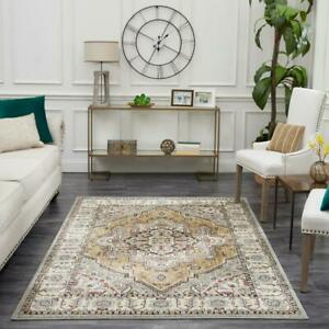 Rene Beige 8 ft. x 10 ft. Area Rug by Mohawk Home