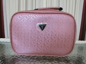 Guess Insulated Lunch Tote Travel Bag Pink NWT