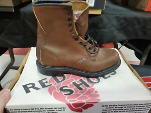 Redwing boots Discontinued style 953 Work boots Brown leather NEW IN BOX