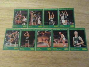 1993 STAR LARRY BIRD COURT KINGS COMPLETE 9 CARD SET BOSTON CELTICS ST4443