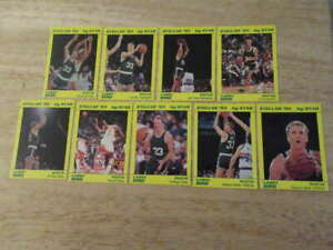 1993 STAR LARRY BIRD STELLAR COMPLETE 9 CARD SET BOSTON CELTICS ST4444