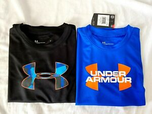 Lot of 2 Under Armour Boy's Youth Heatgear Loose Fit T Shirt Pick Size Brand New $15.99