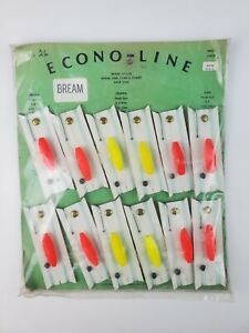 Vintage sealed MO DO Bream Fishing lure store display Bobbers Floats Durham