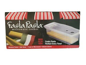 NEW IN BOX FASTA PASTA MICROWAVE PASTA COOKER AS SEEN ON TV