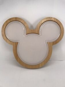 Disney Mickey Mouse Cutting Board, Serving Tray. LNC