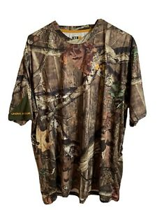 Under Armour Break Up Infinity Camo Sz L Shirt Hunting Camouflage Athletic A1 $14.00