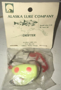 Collectible Alaska Lure Company Drifter Lure New In Package