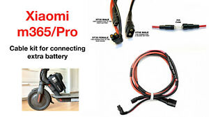 XIAOMI M365 and PRO Cable Kit for Connecting Extra Battery in Parallel 1pc GBP 19.99
