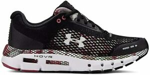 Under Armour Women's HOVR Infinite Floral Running Shoe, Black Pink, 9.5 B M US $69.99
