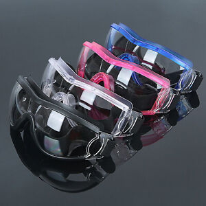 Kids Safety Goggles Anti-Fog Dust Scratch Shockproof Splash Protection Glasses