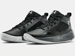 2020 Under Armour Mens UA Lockdown 5 Basketball Black Curry Style Shoes $69.99