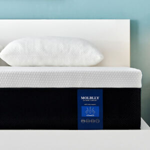 Full Size,10 Inch Premium Gel Multi Layered Memory Foam Bed Mattress In a Box