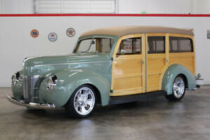 1940 Ford Deluxe  1940 Ford Deluxe 6555 Miles Green Station Wagon