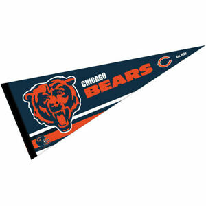 Chicago Bears Pennant Flag