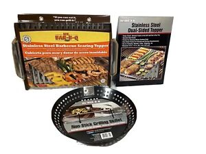 NEW BBQ Toppers & Skillet Grilling Accessories Topper Seafood  FREE SHIP