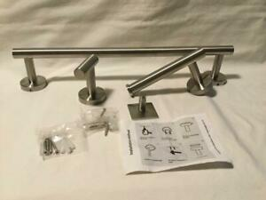 TocTen 4-Piece Set-Bathroom Hardware Set-SUS304 Stainless Steel