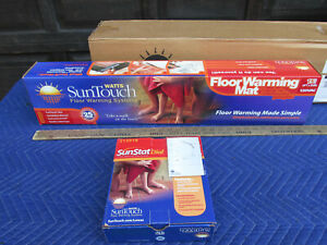 SunTouch Floor Warming 6 ft x 30 in 120V Radiant Under Floor Warming Mat