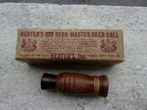 Herter's World Famous #903 Master Deer Hunting Game Call    w Box