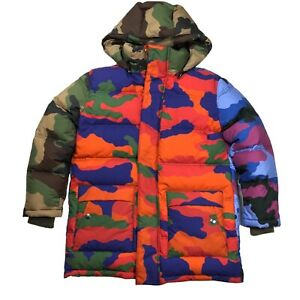 Moschino Camo Puffer Jacket ~BRAND NEW w Tags~ MSRP $2800 Womens sz 6 Small