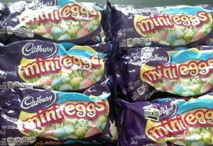 Lot of 7 Bags Exp 7/2020 CADBURY Milk Chocolate Mini EGGS, 10 oz
