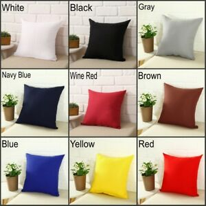 Square Home Sofa Decor Pillow Cover Case Cushion Cover Size 16x16quot; 18x18quot; $4.05
