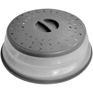 OUZIFISH Microwave Plate Cover 10.5 inch Collapsible Food Plate Lid Cover - BPA