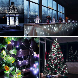 12M 100LED 8 Modes String Light USB Holiday Christmas Decorative Lamp for Home I