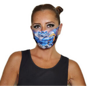 Kids & Teenagers Cartoon Print Face Mask! Washable,Protects Face & Mouth.UNISEX!