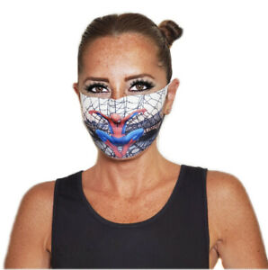 Kids & Teenagers Cartoon Print Face Mask! Washable,Protects Face & Mouth.