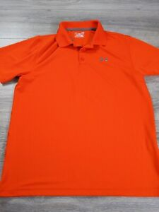 Men's Under Armour Loose Heat Gear Polo Red Size 2XL $14.99