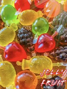 TIK TOK FRUIT JELLY GELY FAMOUS DELY CANDY Fruti Licious  (25 PIECES Fast Ship💫