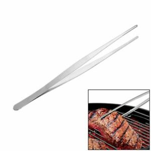 Barbecue Stainless Steel Food Tongs Serving Tong BBQ Foods Long Kitchen Tools