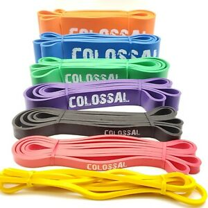 Colossal Heavy Duty Resistance Bands Loop Exercise Sport Fitness Yoga Gym Latex $25.15
