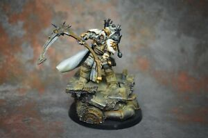 Warhammer 30K Horus Heresy Mortarion Primarch of the Death Guard PAINTED