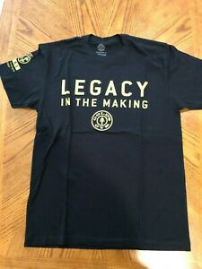 Golds Gym, Legacy in the Making 50 year anniversary Tee Shirt $3.00