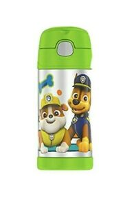 Thermos 12 OZ Paw Patrol FUNtainer Bottle - Green Brand New