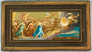L'Aurora or The Aurora ~ Chromolithograph GUIDO RENI 1920's Antique Framed Print $249.95